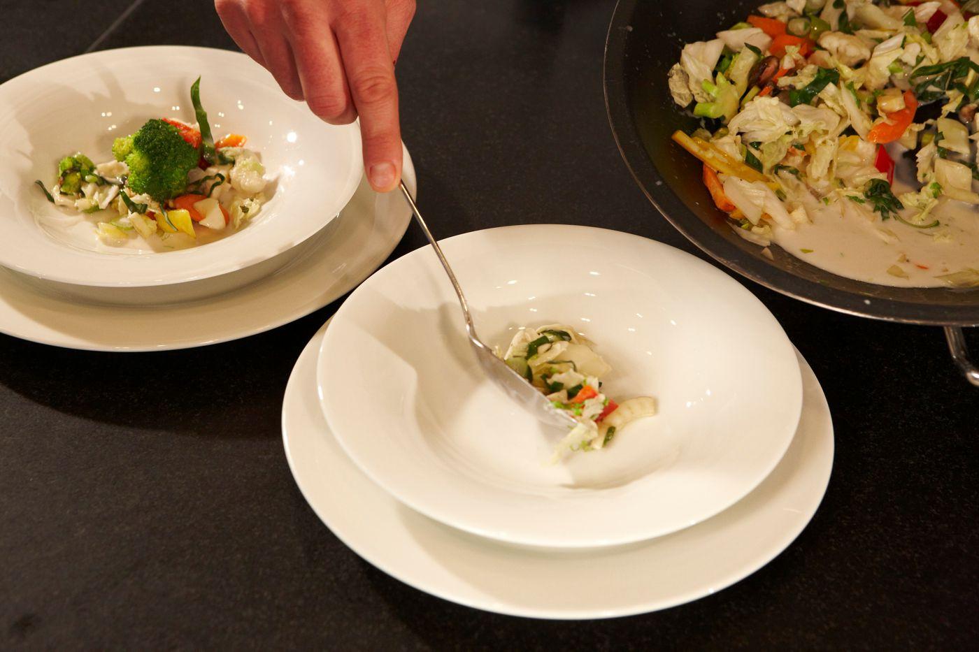 Speisen im Restaurant